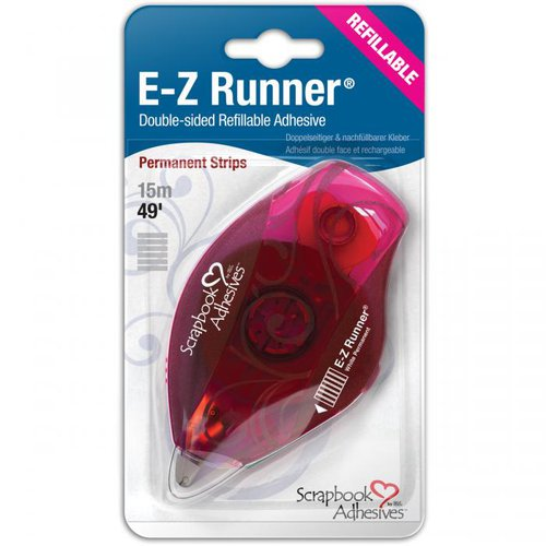 3L Scrapbook Adhesives - EZ Runner Tape - Permanent Strips - Refillable