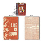 7 Gypsies - Lille Collection - Binderie - Board Book Cover - Life is Good