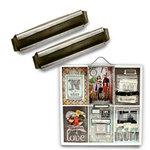 7 Gypsies - Printer Tray Label Holder - Antique Silver