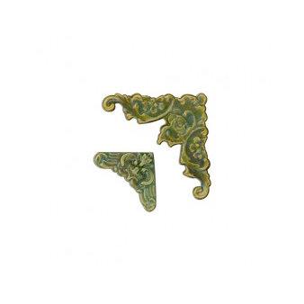 7 Gypsies - Display Trim - Corners - Antique Brass