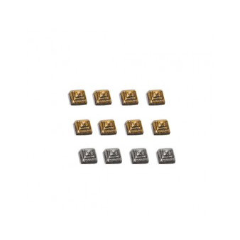7 Gypsies - Display Trim - Pyramid Studs - Antique Silver