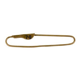 7 Gypsies - Display Trim - Vintage Pin - Antique Brass