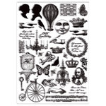 7 Gypsies - Steampunk Collection - Rub Ons - Victoriana