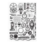7 Gypsies - Steampunk Collection - Rub Ons - Time