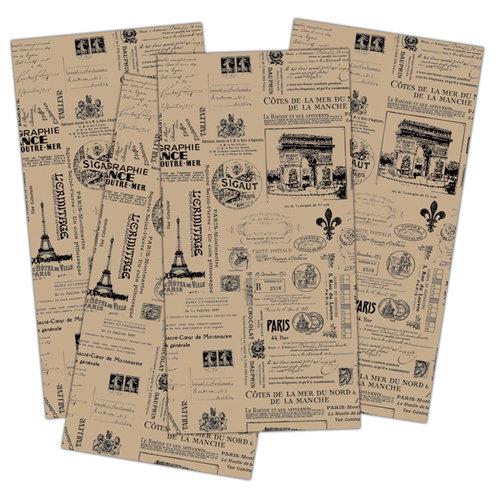 7 Gypsies - Collage Tissue Paper - Paris