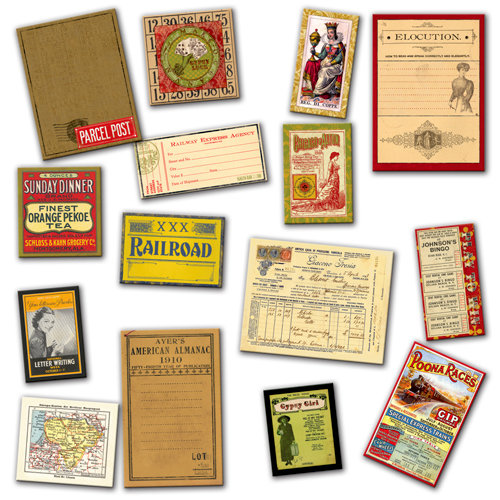 7 Gypsies - Ephemera Cards - Gypsy - Mini