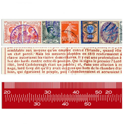 7 Gypsies - Lille Collection - Printed Paper Tape - 3 Rolls