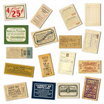 7 Gypsies - Mini Ephemera - Receipts