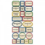 7 Gypsies - Apothecary Collection - 97% Complete Label Stickers - Primitive