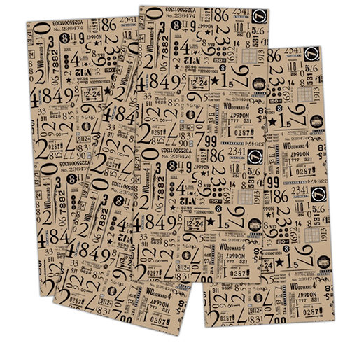 7 Gypsies - Collage Tissue Paper - Numero