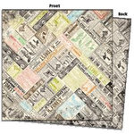 7 Gypsies - Avignon Collection - 12 x 12 Double Sided Paper - Annonce