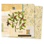 7 Gypsies - Conservatory Collection - 12 x 12 Double Sided Paper - Flora