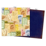 7 Gypsies - Camden Collection - 12 x 12 Double Sided Paper - Primrose
