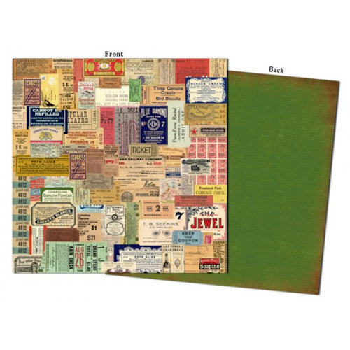 7 Gypsies - Camden Collection - 12 x 12 Double Sided Paper - Spitafields