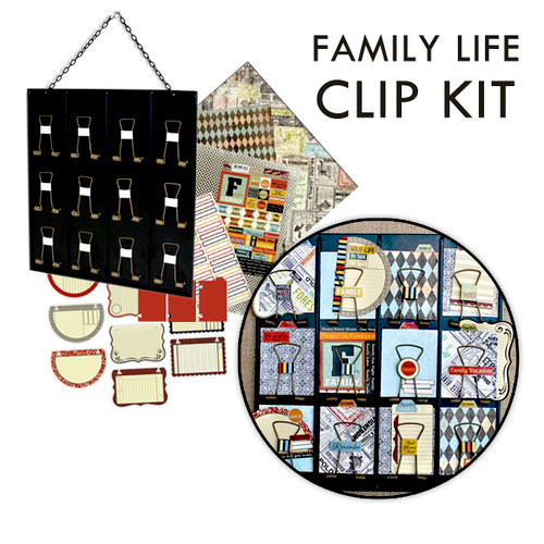 7 Gypsies - Family Life Clip Kit with Receipt Holder