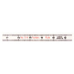 7 Gypsies - Display Trim - Ruler - Surveyor - White