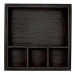 7 Gypsies - Solo Shadowbox Tray - Black - 6 x 6