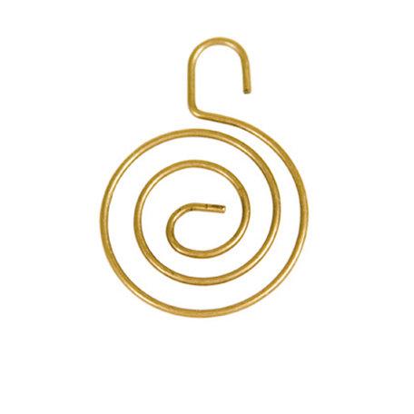 7 Gypsies - Display Trim - Mini Round Hanger - Antique Brass