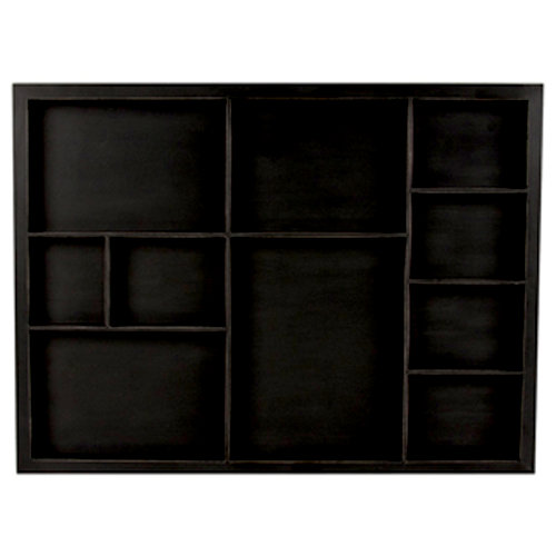 7 Gypsies - Photo Shadowbox Tray - Black - 12 x 16