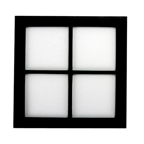 7 Gypsies - Shadow Box Layer - Wood Insert - Window - Black - 8 x 8