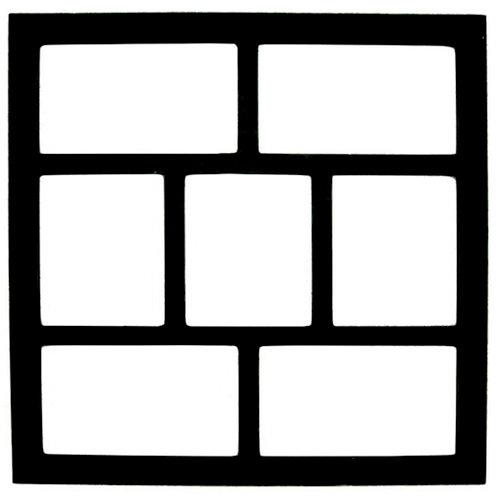 7 Gypsies - Shadow Box Layer - Wood Insert - Photo - Black - 12 x 12