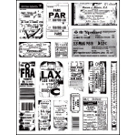 7 Gypsies - Clear Acrylic Stamps - Ephemera
