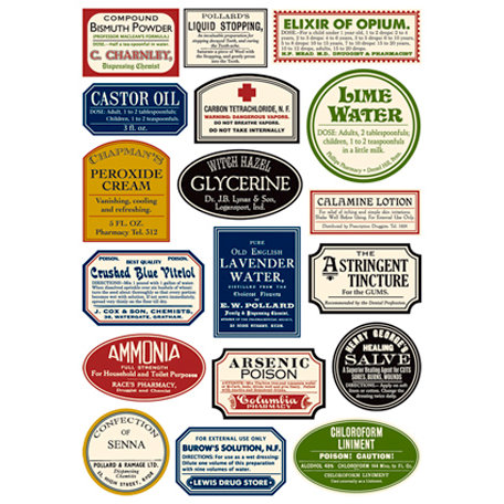7 Gypsies - Rub Ons - Color - Apothecary