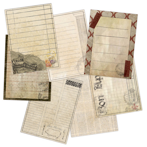 7 Gypsies - Epicurean Collection - Journal Pages