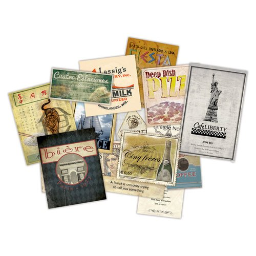 7 Gypsies - Epicurean Collection - Mini Ephemera Pack