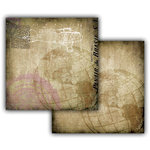 7 Gypsies - Off the Wall Collection - 12 x 12 Double Sided Paper - Travel