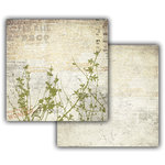 7 Gypsies - Off the Wall Collection - 12 x 12 Double Sided Paper - Weeds