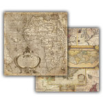 7 Gypsies - Global Collection - 12 x 12 Double Sided Paper - Africa