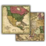 7 Gypsies - Global Collection - 12 x 12 Double Sided Paper - America