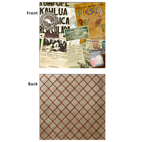 7 Gypsies - Epicurean Collection - 12 x 12 Double Sided Paper - Pimienta