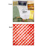 7 Gypsies - Epicurean Collection - 12 x 12 Double Sided Paper - Pomodoro