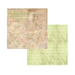 7 Gypsies - Gypsy Moments Collection - 12 x 12 Double Sided Paper - Take Our Breath Away