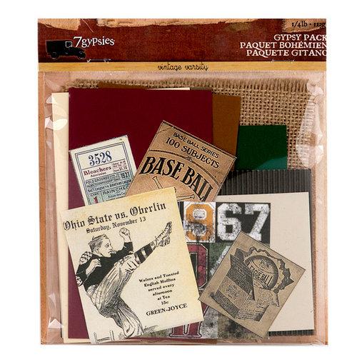 7 Gypsies - Vintage Varsity Collection- Gypsy Pack