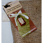 7 Gypsies - Santa's Journey Collection - Christmas - Vintage Burlap Stocking