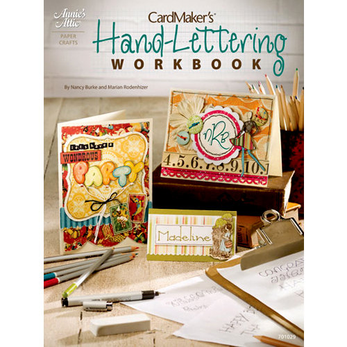 Annie's Attic - Idea Book - Cardmaker's Hand-Lettering Workbook