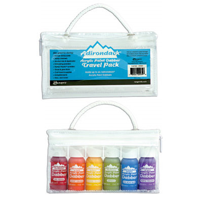 Ranger Ink - Adirondack - Acrylic Paint Dabber Travel Pack