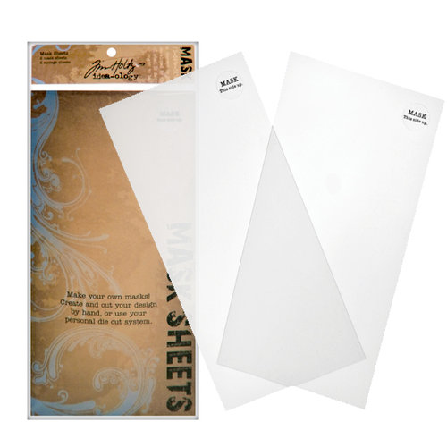 Tim Holtz - Idea-ology - Mask Sheets - 2 Pack