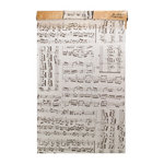 Tim Holtz - District Market Collection - Idea-ology - Tissue Wrap Paper - Composer