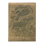 Tim Holtz - District Market Collection - Idea-ology - Matchbook Notepad - Notebook