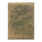 Tim Holtz - District Market Collection - Idea-ology - Matchbook Notepad - Notebook