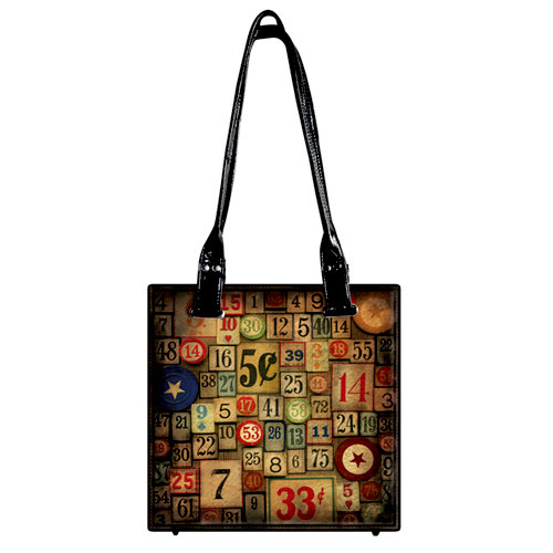 Tim Holtz - District Market Collection - Idea-ology - Tote - Amusement