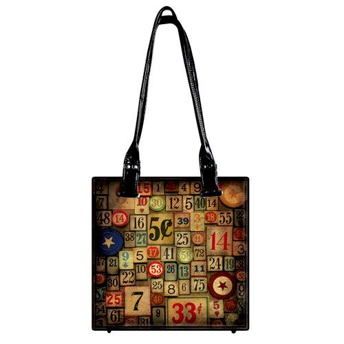 Tim Holtz - District Market Collection - Idea-ology - Tote - Amusement