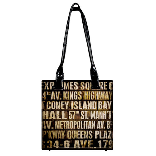 Tim Holtz - District Market Collection - Idea-ology - Tote - Subway