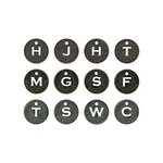 Tim Holtz - Idea-ology Collection - Halloween - Muse Tokens