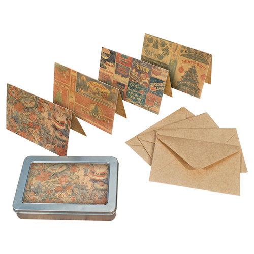 Tim Holtz - District Market Collection - Idea-ology - Notecard Set - Tidings