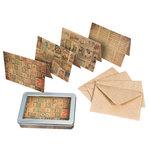 Tim Holtz - District Market Collection - Idea-ology - Notecard Set - Merriment